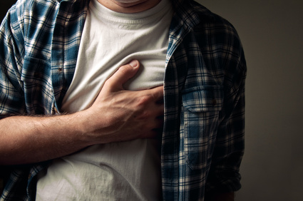 anxiety chest pain and heart attack Heart anxiety neurosis is a combination of symptoms, such as chest pain and difficulty breathing, that resembles a heart disease in a person with no detectable organic heart abnormality [2] also called cardiophobia, it is considered a psychosomatic disorder, that is a physical manifestation of an anxiety disorder.